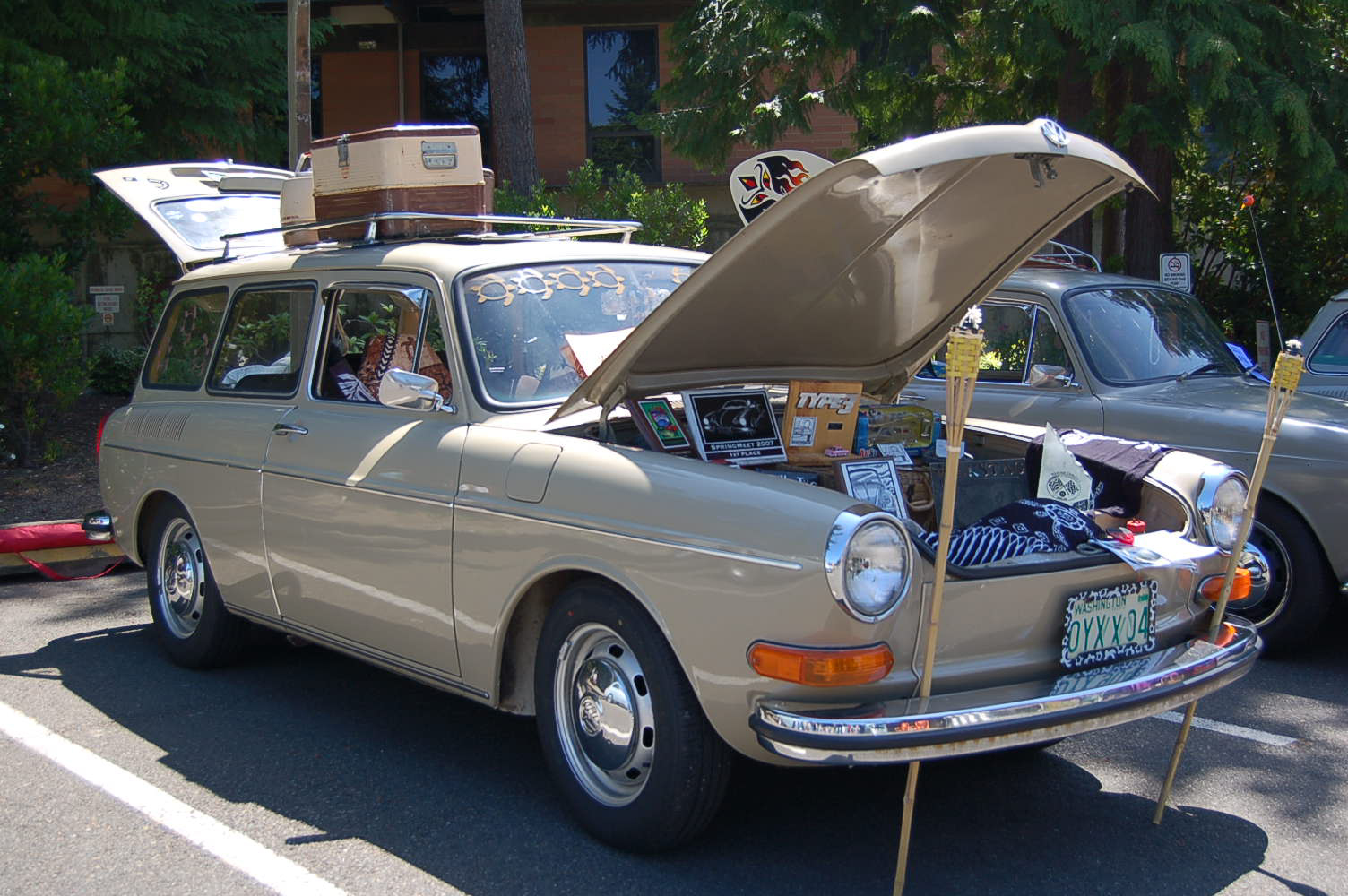 Retro Roof Rack Lovequilts