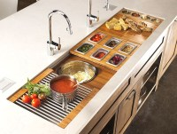 The Galley Sink Workstation 7 - Kitchen Design