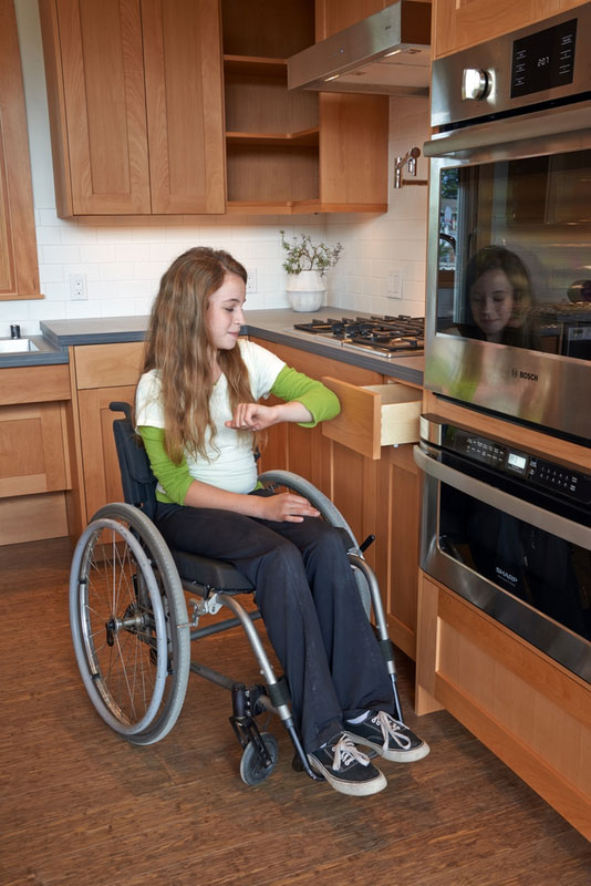 wheelchair accessible home plans