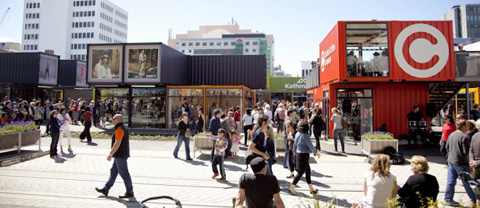 Restart Village Shipping Container Shopping Mall