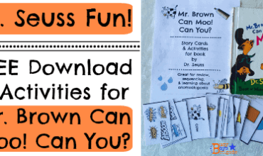Mr. Brown Can Moo! Can You?: Story Cards & Activities For Dr. Seuss Book