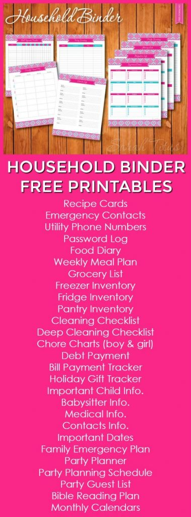 The Ultimate List of Budgeting Printables from Pinterest Busy - free printable budget planner