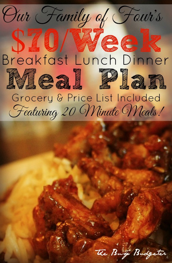 11 Best Free Meal Plans Budget-Friendly Meal Planning Busy Budgeter - budget plans for families