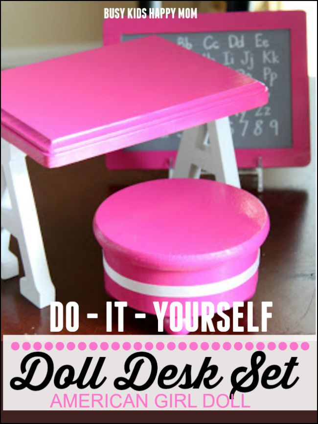 Supplies for your diy american girl doll furniture