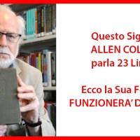 """La truffa della """"formula"""" Allen Collins"""