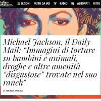 Michael Jackson e le accuse sulla pedofilia