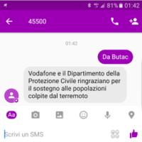 Donazioni via SMS e banche