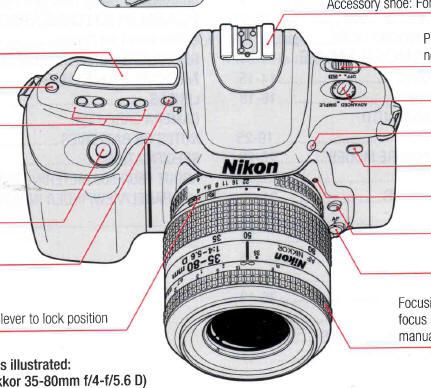 Nikon f50 instruction manual, user manual, PDF manual, free manuals - instruction manual