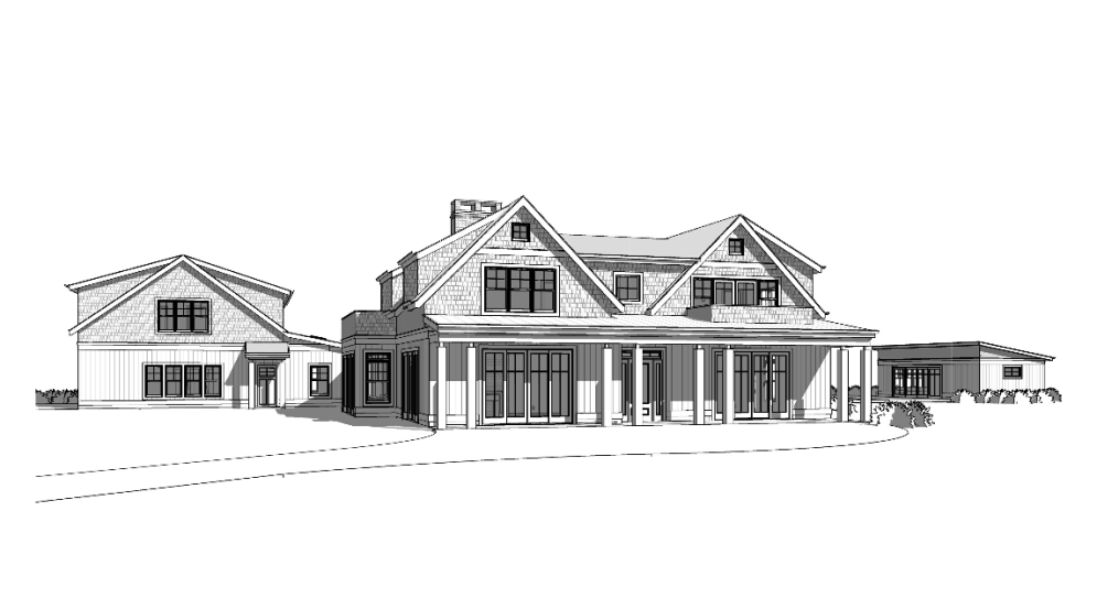 Shelter Island Shingle Style