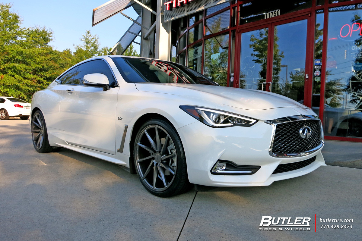 Red Lamborghini Car Wallpaper Infiniti Q60 Coupe With 20in Vossen Cvt Wheels Exclusively