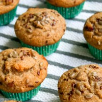 white carrot muffins