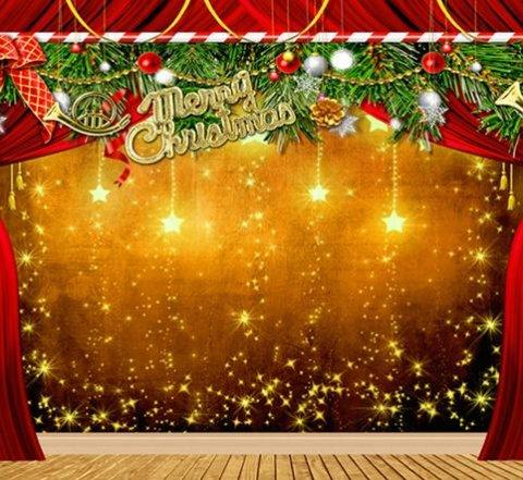 Fashion Durable Backdrop Merry Christmas Theme Photography - christmas theme background