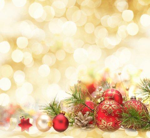 Fashion Thin Backdrop Christmas Theme Yellow Halo Scene Photography - christmas theme background