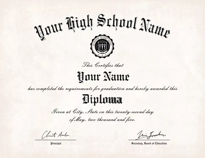 The Best Collection of Diploma Templates for every purpose - school certificate templates