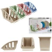 Dish Plate Drying Rack Organizer Drainer Storage Plastic ...