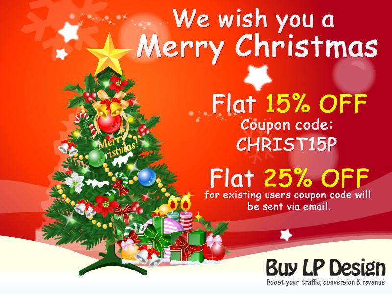 Buylandingpagedesign wish you a Merry Christmas - BUYLPDESIGN Blog