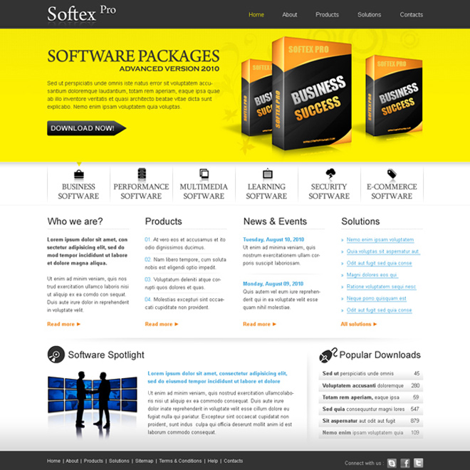 Creative  best website template psd for sale to create your website - how to create a website template