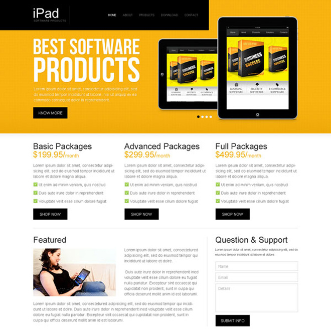 best software products attractive and appealing software product