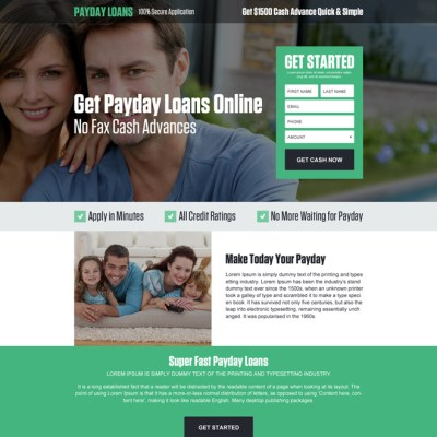 mobile responsive landing page design templates for ...