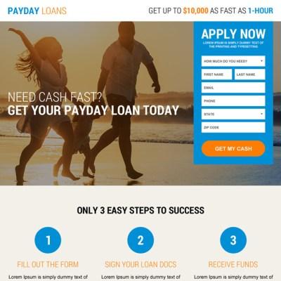 landing page design templates for lead gen business marketing conversion