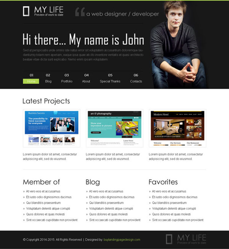 personal-pages-website-template-psd-02 preview