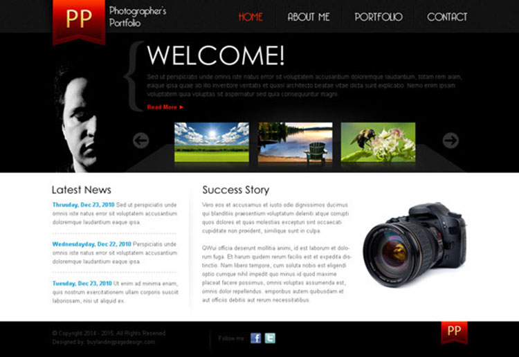simple web page template radiovkm - simple website templates