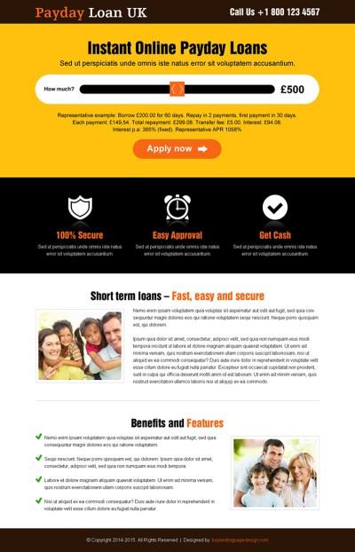 uk-online-payday-cash-loan-slider-lp-18 | Payday Loan Landing Page Design preview.
