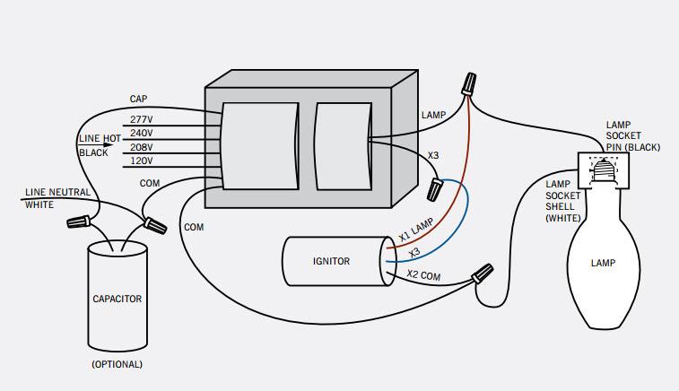 240v Ballast Wiring Diagram Better Wiring Diagram Online
