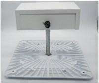 LED gas station canopy light fixture - 150 watt