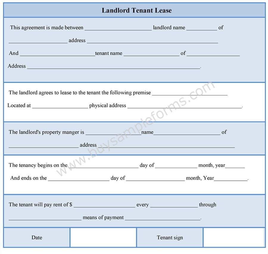 Doc Tenant Contract Template Free  Doc Tenant