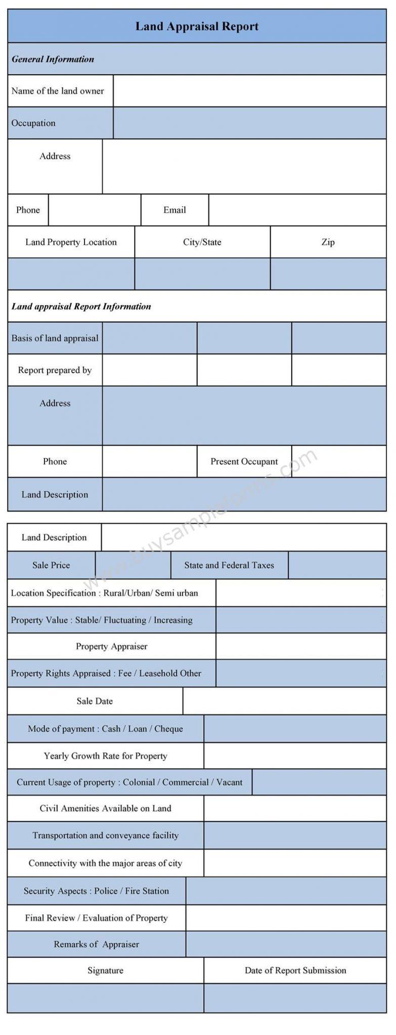 employee appraisal template