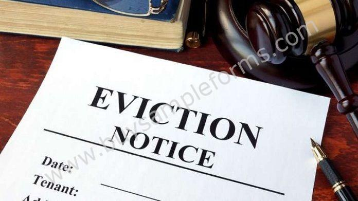 Sample Eviction Forms Eviction Notice Form Templates