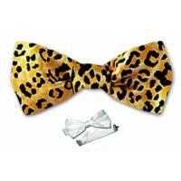 Boys Cheetah Pre Tied Bow Tie