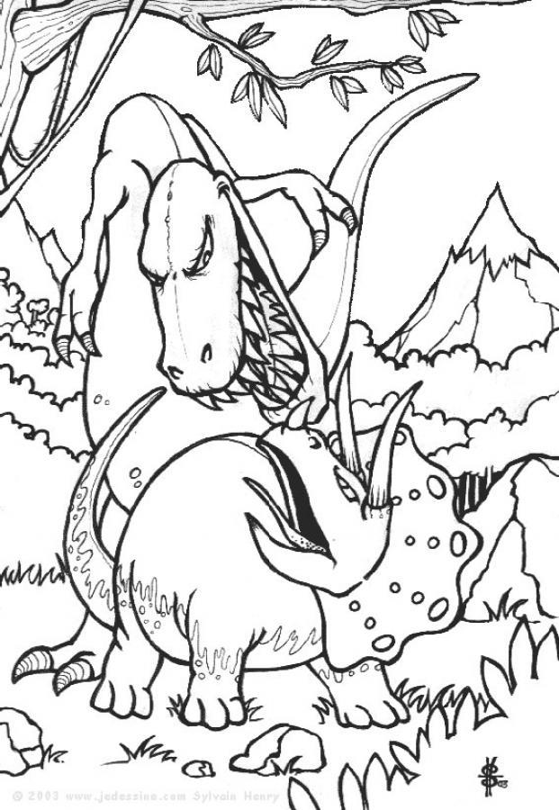 Coloriage Dinosaure Effrayant.Dinosaure Des Mers Coloriage Dinosaure Des Mers En Ligne Auto