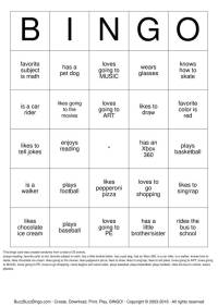 HUMAN BINGO Bingo Cards to Download, Print and Customize!