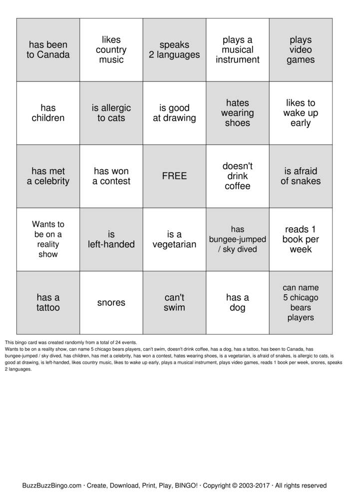 PeopleBingo-14812jpg (699×989) People Bingo Pinterest - birthday coupon templates free printable