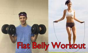 FlatBellyWorkout_FitnessFriday