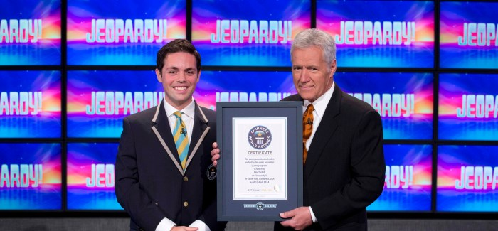 Jeopardy! Sets Record For Most Game Show Episodes Hosted By Same Presenter