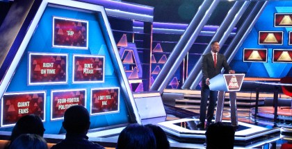 THE $100,000 PYRAMID - Airdate: June 26, 2016 - Michael Strahan hosts a new version of the classic game show, THE $100,000 PYRAMID, airing SUNDAYS (9-10PM, ET) on the ABC Television Network.    (ABC/ Lou Rocco)   MICHAEL STRAHAN
