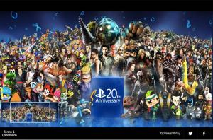 Playstation Anniversary-20YearsofCharacters