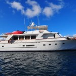 NSS Pattam a luxury Virgin Island Motor Yacht for Charter