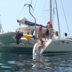"Catamaran Sailboat ""Nemo"" on charter"