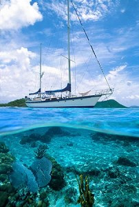 Caribbean yacht charter, with S/Y Sandcastle in the Virgin ISlands