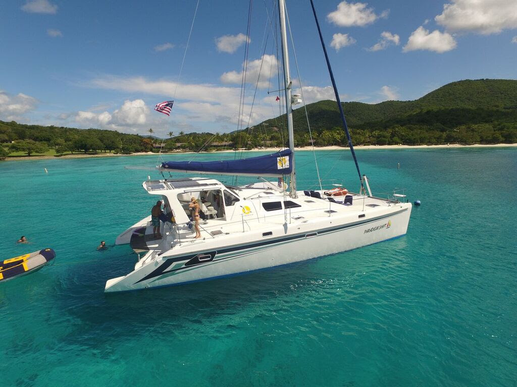 Crewed catamaran Paradigm Shift