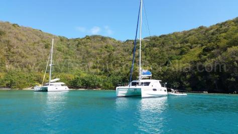 Rent a catamaran in the BVI Caribbean