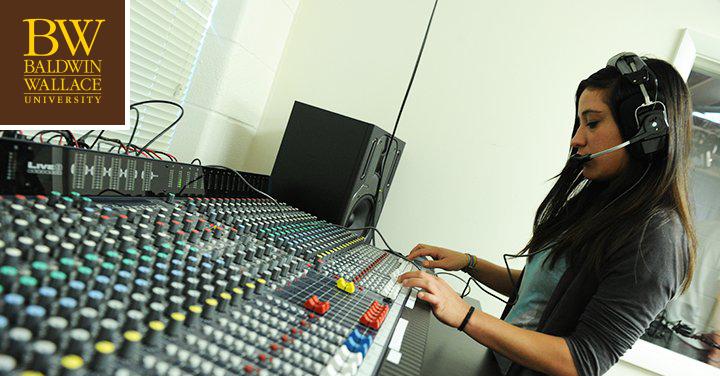 Broadcasting and Mass Communication Major Baldwin Wallace University