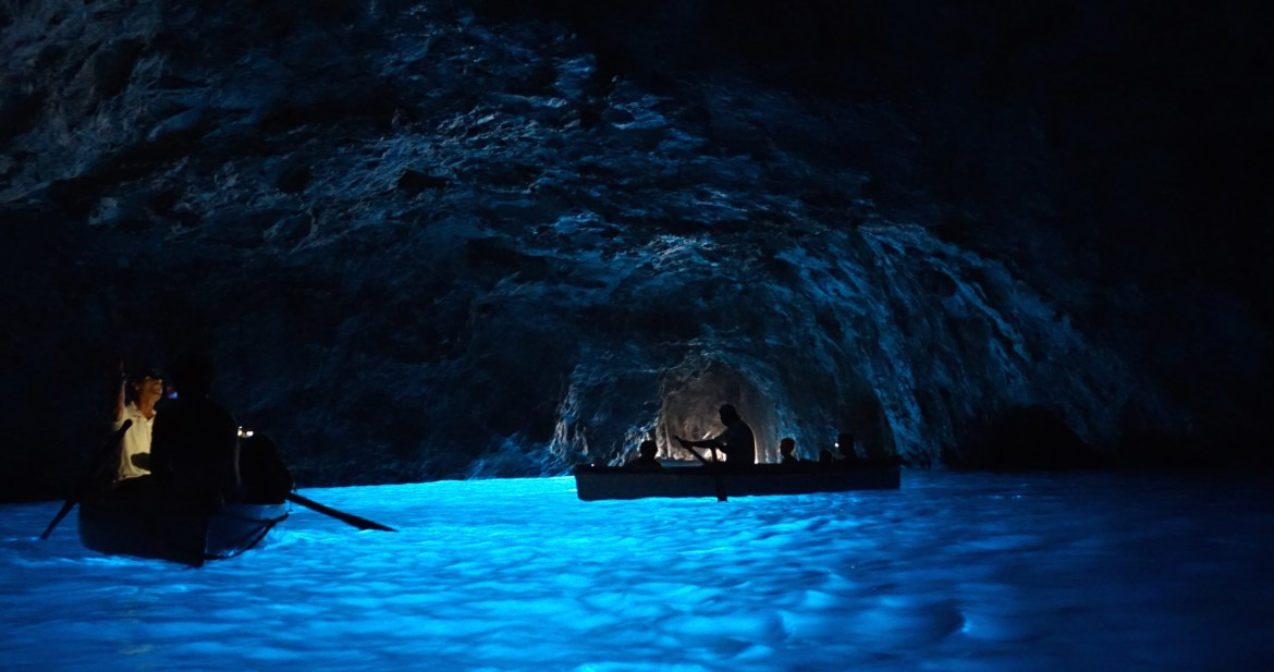 Grotto Azzurra (Blue Grotto), Island of Capri, Amalfi Coast, Italy, The Rosedog Blog, www.therosedogblog.me