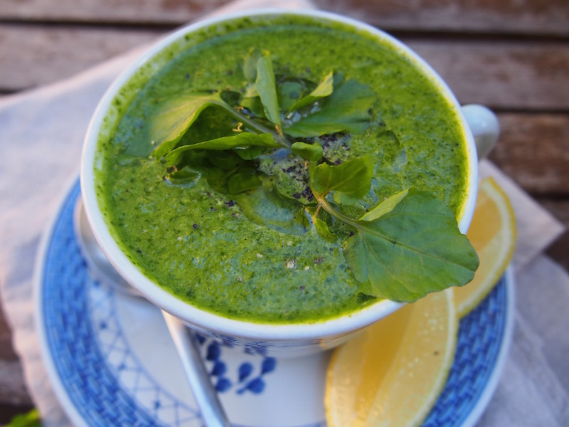 Watercress Soup, Detox & Cleanse you body with this soup, By Rosie, www.therosedogblog.me
