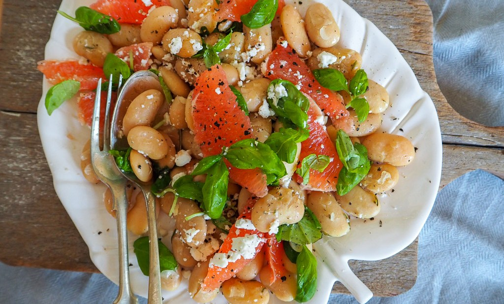 Citrus Bean Spring Salad, Bean Salad, Recipes By Rosie, www.by-rosie.com