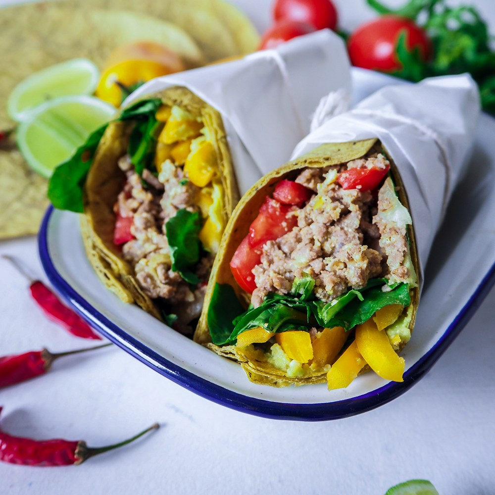Breakfast Beef Burrito, Meal Prep Ideas, Recipes By Rosie, find recipe at www.by-rosie.com